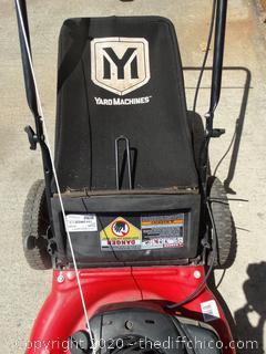 Yard Machine Lawn Mower Works