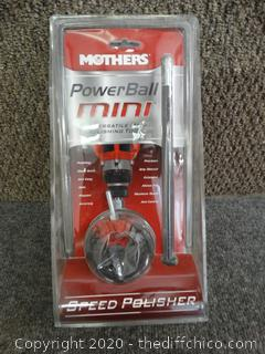Mothers Power Ball Mini Speed Polisher NIB