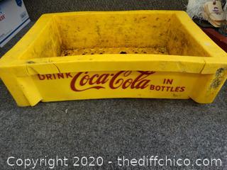 Yellow Coca-Cola Tray