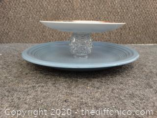 Homemade Tiered Serving Dish