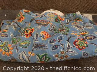 "Lined Drapery Fabric 156"" x 80"""