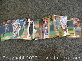 Mixed Baseball Cards