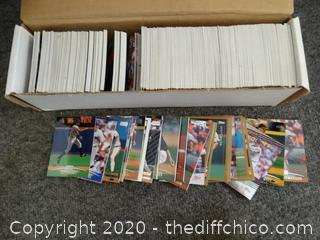 Mixed Baseball Cards