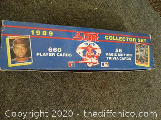 1989 Score Collector Set 660 Baseball Cards