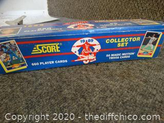 1989 Score Collector Set 660 Baseball Cards