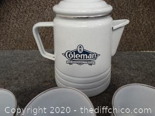 Coleman Camping Coffee Set