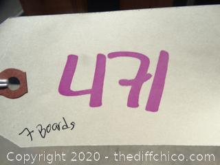 "7 Redwood Boards (2"" x 12"" x 8')"