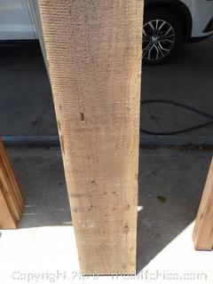 "2 Redwood Boards (2"" x 12"" x 12')"