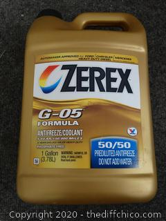 New Zerex G-05 Formula Antifreeze/Coolant