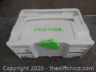 Festool Accessories, in the Case