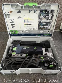 Festool Jigsaw - Works