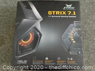 Strix 7.1 Surround Gaming Headset (NIB)
