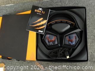 Strix 7.1 Surround Gaming Headset (NIB)