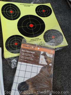 Various Target Practice Accessories