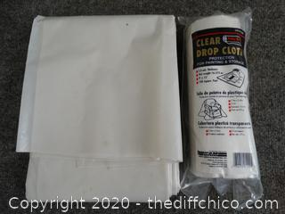 Drop Cloths for Painting & Storage