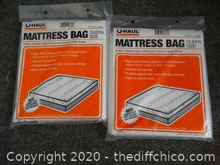 Queen Size U-Haul Mattress Bags (NIB)