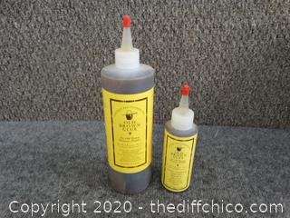 Old Brown Glue 20 oz. & 5 oz. - Appears New