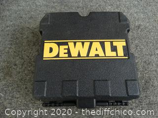DeWalt Laser Chalkline Generator - Appears New