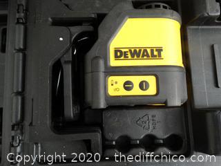 DeWalt Laser Chalkline Generator - Appears New