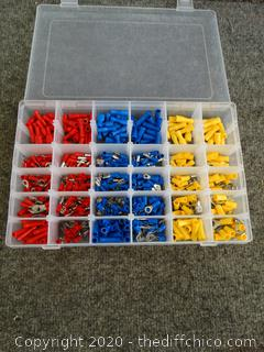 Ring Terminal Assortment in Case - Appears New