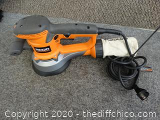 Ridgid Orbital Electric Sander