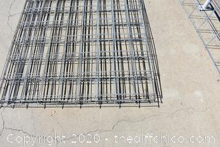 7 Pieces of Wire Mesh