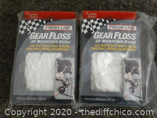 NIB Gear Floss Microfiber Ropes