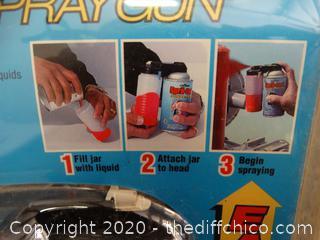 Spra-Tool Spray Gun NIB