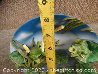 Decorative Frog Plate