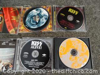 Kiss CDs