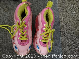 Barbie Girls' Heely Shoes Size 12