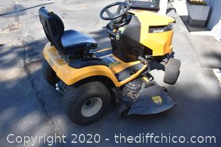 Cub Cadet Riding Gas Hydrostatic Front-Engine Lawn Tractor XT1-50in - 112.7hrs