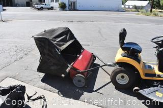 Craftsman Riding Lawn Mower Sweeper
