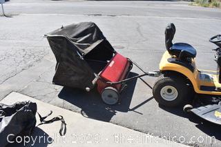 Craftsman Riding Lawn Mower Sweeper