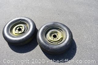 2 Tires - P195/75R14