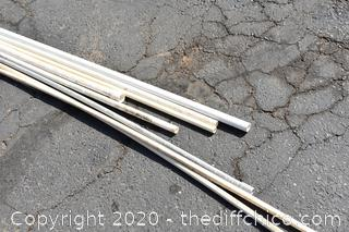Mixed Lot of PVC Pipe