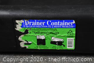 Drainer Containers