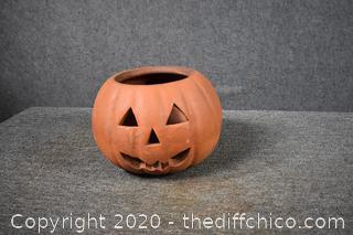 Terra Cotta Pumpkin