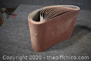 10 - 40 Grit 10x30 Sand Paper