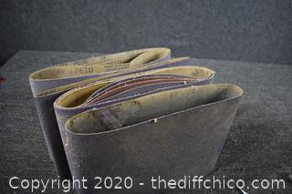 10 - 50 Grit 10x30 Sand Paper