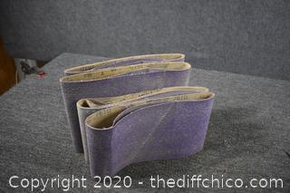 40 Grit Sand Paper 6-10x 30 and  6-8x30