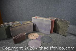 Mixed Lot of Sand Paper