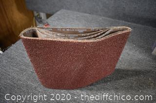 4 - 24 Grit 10x30 Sand Paper