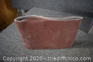 6 - 120 Grit 10x30 Sand Paper