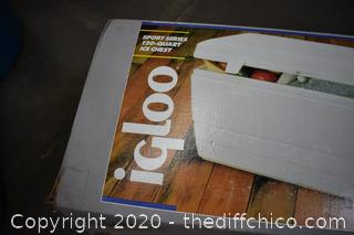 IGLOO Sport 120 Quart Ice Chest