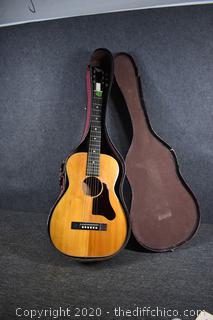 37in Regal Guitar w/Case