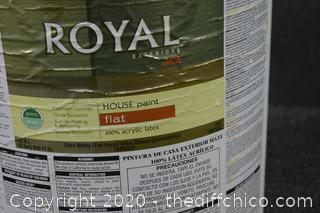 5 Gallon of Royal Paint