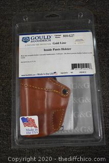 NIB Gould and Goodrich Inside Pants Holster