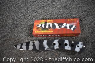 5 NIB Folding Knives