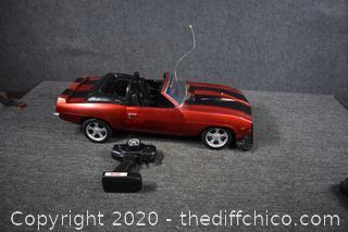 Untested Remote Control Car